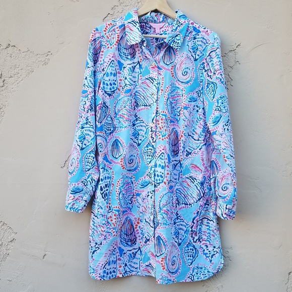 52fa0fb28e6 Lilly Pulitzer Other - Lilly Pulitzer Jupiter Island Cover Up Size Medium
